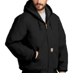 Carhartt - Carhartt ® Tall Quilted-Flannel-Lined Duck Active Jac - CTTSJ140