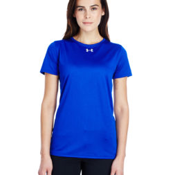 Under Armour Ladies' Locker T-Shirt 2.0 Royal